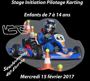 Stage Initiation Enfant le 15 février 2017