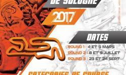 L'affiche du Trophée de Sologne 2017