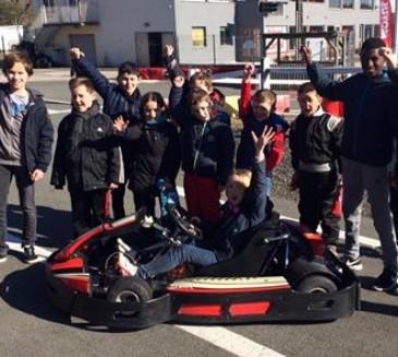 Pour les vacances d'Avril, 2 stages initiation karting
