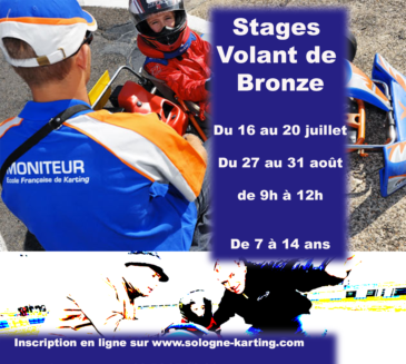 Stages Volant de Bronze été 2018