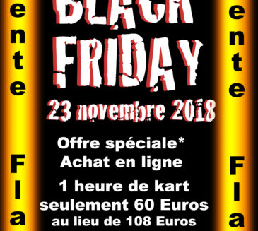 Black Friday: Vente flash le 23 novembre 2018