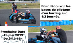 Stage Initiation karting enfants le 19 mai