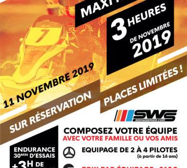 Maxi Kart Cup du 11 novembre – Retour des SWS à Salbris
