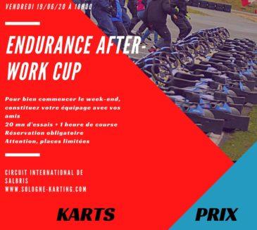 Endurance After Work Cup pour bien commencer le week-end