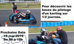Stage Initiation karting enfants le 19 mai