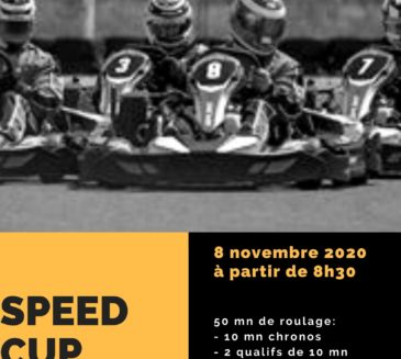 Inscrivez-vous dès maintenant à la première Speed Cup