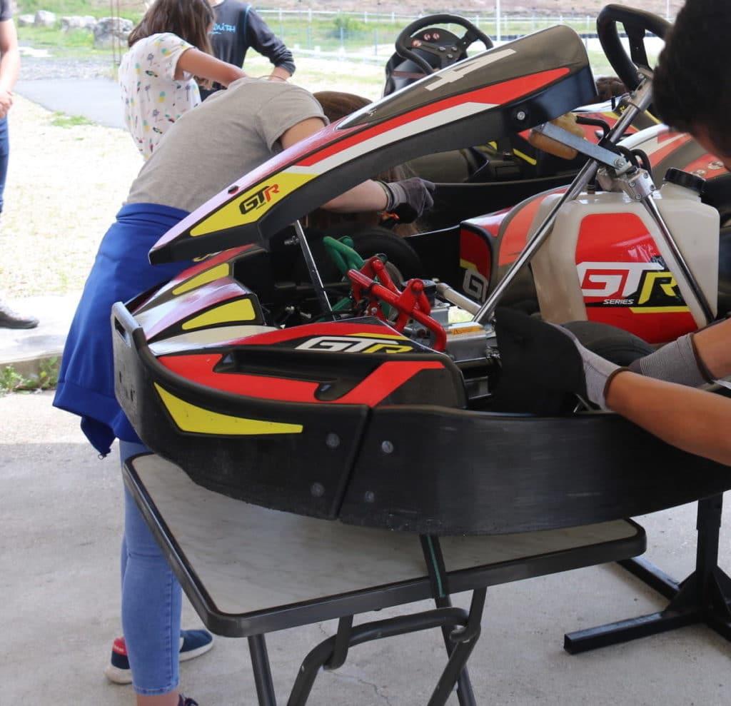 école de karting et pilotage salbris