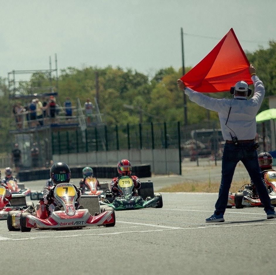organiser course karting salbris