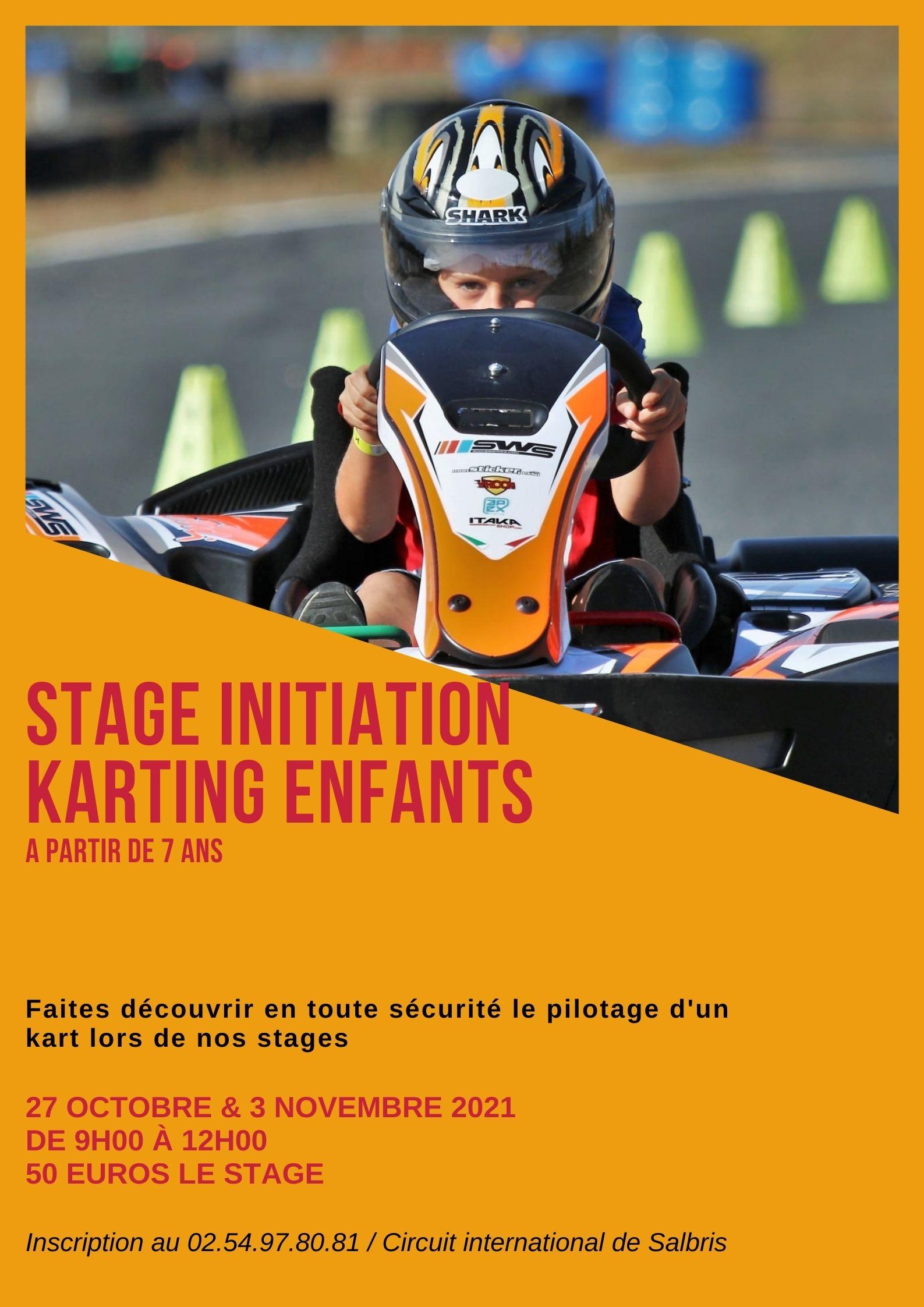 Stage initiation à partir de 7 ans